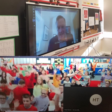 Virtual Q and A with Netherthong Primary School